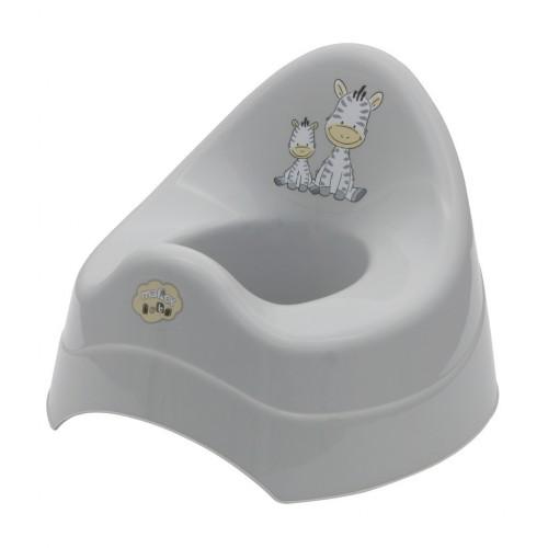 Детско гърне - Зебра сиво