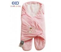 Спално чувалче за седалка - Розово