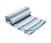 Детско одеяло на райе тюркоаз