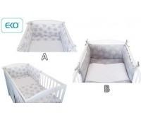 Детски спален комплект от 3 части бял