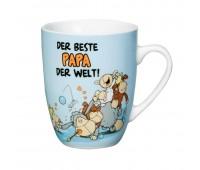 "Порцеланова чаша с надпис ""DER BESTE PAPA DER WELT"""