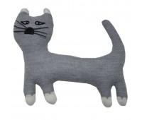 Плетена бебешка играчка Котка