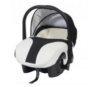 Кошче за бебета за кола Baby Merc Style бяло с тъмно синьо