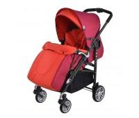 Детска количка, комбинирана Zooper Waltz Flaming Plaid, червена