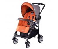Детска количка, комбинирана Zooper Waltz Honey Citrus, сиво и оранжево