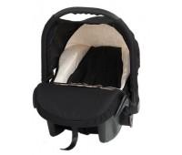 Бебешко кошче за кола Baby Merc Zipy - Черно и бяло