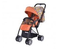 Комбинирана количка Zooper Salsa Prairie Song, оранжева на цветя