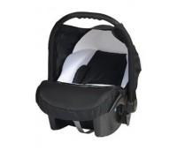 Кошче за бебета за кола Baby Merc Junior Twist черно и бяло