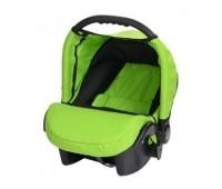Кошче за бебета за кола Baby Merc Junior Twist зелено и черно