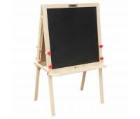 Регулируема учителска двустранна дъска за рисуване и писане