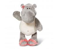 Бебешки плюшена играчка - Хипопотам