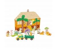 Детска игра с диви животни