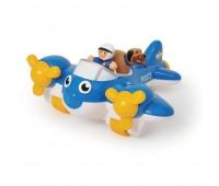Детска играчка - Полицейски самолет Пийт