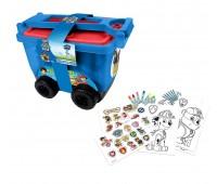 Детско камионче с пособия за рисуване Пес Патрул