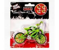 Играчка за пръсти Колело BMX, зелено