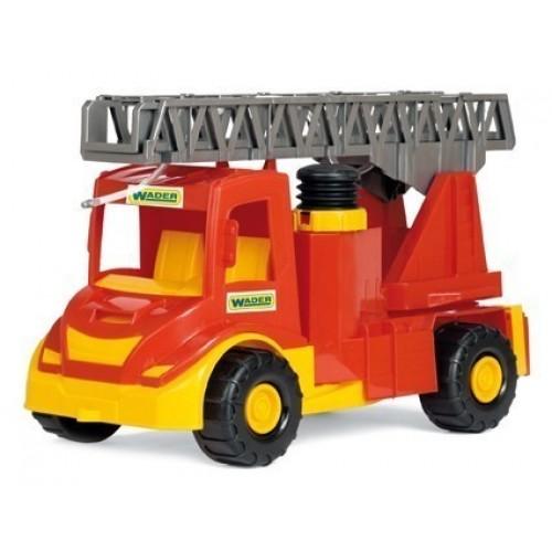 Пожарна кола с кран