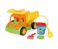 Детски камион със сет за пясък