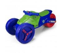 Детски мотор PJ Masks, синьо зелен
