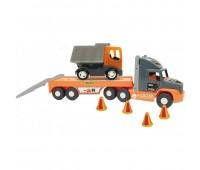 Голям камион играчка със самосвал