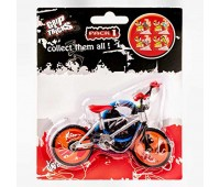 Играчка за пръсти - колело BMX - сиво