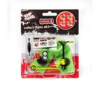Играчка за пръсти - Скутер зелен