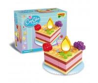 Конструктор за деца - парче от торта, Unico
