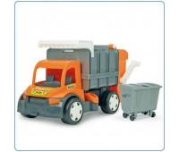 Боклукчийски детски камион - оранжев