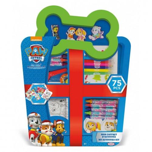 Детски комплект за оцветяване 75 части, PAW PATROL