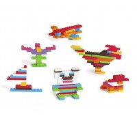 Класически детски конструктор - 210 части