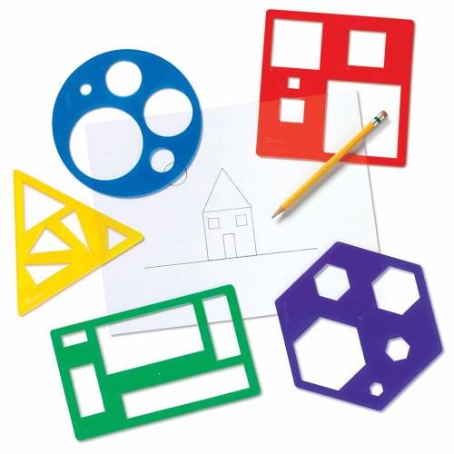 Шаблони за рисуване - Основни геометрични фигури
