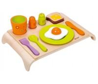 Дървена играчка - Комплект за закуска