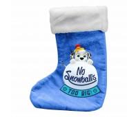 Коледен чорап за подаръци с 60 части за оцветяване, Пес Патрул