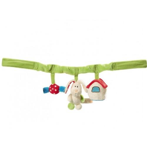 Плюшена играчка за количка - Залъгалка