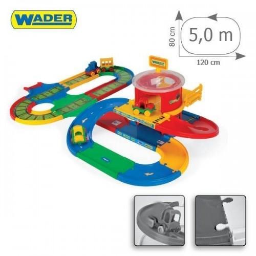 Детска писта - жп гара с магистрала и паркинг