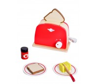 Дървен тостер за игра, червен