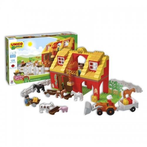 Детски конструктор - селскостопанска ферма, Unico