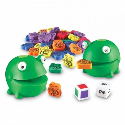 Нахрани забавната жабка - детска игра