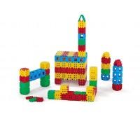 Строителни вафлени блокчета - 170 части