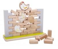Дървена играчка - Стена за нареждане