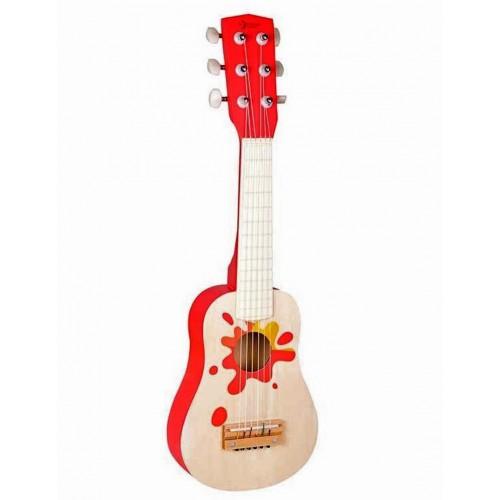 Детска дървена китара - Звезда