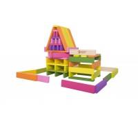 Детски дървен строител - 100 части