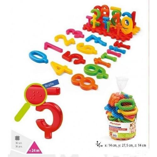 Детска образователна игра - Светът на числата 36 елемента
