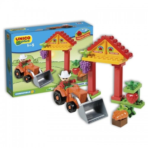 Детски конструктор - мини ферма, Unico