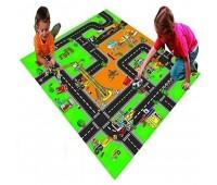Килимче за игра - Строителна площадка