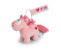 Плюшена играчка Еднорог Merry Heart, 11см. - висулка