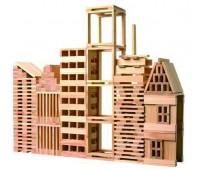 Строител от дървени блокчета - 250 части