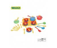 Детски комплект прибори за вечеря - 31 елемента