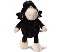 Плюшена играчка овцата Jolly - Don't worry be happy - Черна 25 см