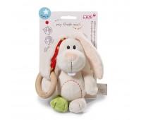 Бебешка плюшена играчка - Заек Tilli