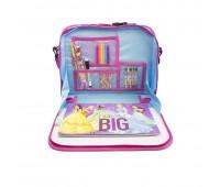 Детска чанта дисни с принадлежности за рисуване